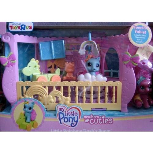 マイリトルポニー My Little Pony ニューボーン キューティー Little レインボウ Dash's Room w ボーナ海外取寄せ品