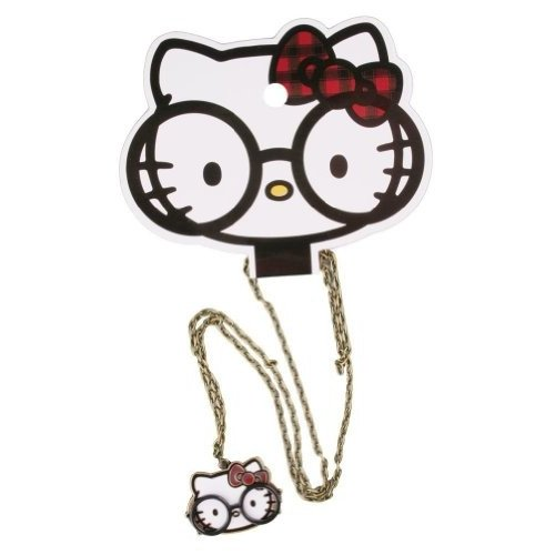 ネックレス - ハローキティ Hello Kitty - New Sanrio ラウンド グラス Anime ライセンス sann010海外取寄せ品