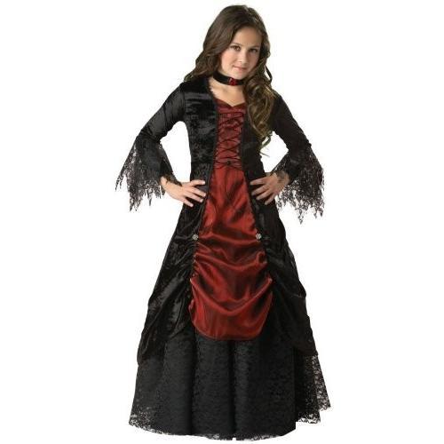 ゴシック Vampira チャイルド コスチューム (Size 6)海外取寄せ品