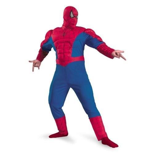 Spiderman クラシック マッスル チェスト メンズ コスチューム海外取寄せ品