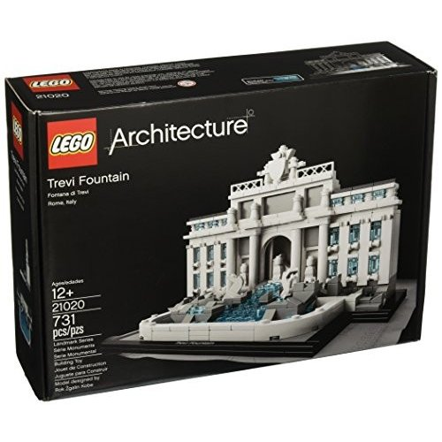 レゴ アーキテクチャー Lego Architecture Trevi Fountain 21020 Building Toy海外取寄せ品