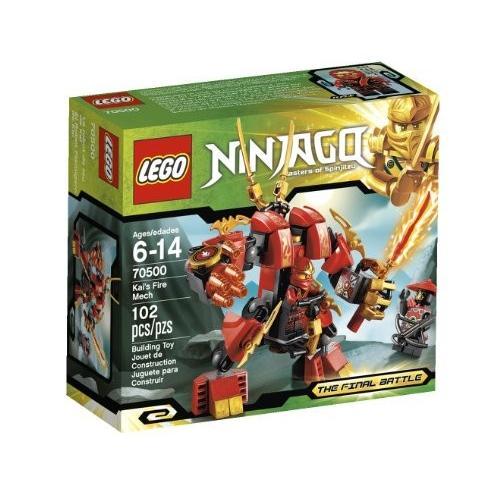 レゴ ニンジャゴー Lego Ninjago Kais ファイア メック 70500 (Discontinued by manufact海外取寄せ品