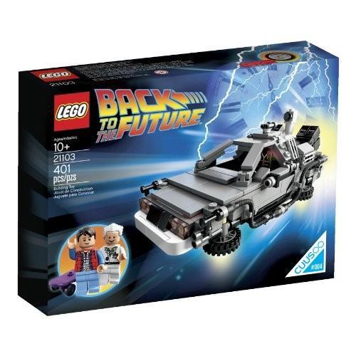 レゴ The DeLorean タイム マシーン Building セット 21103 (Discontinued by manufac海外取寄せ品