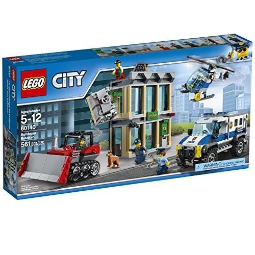 レゴ シティ Lego City ポリス Police Bulldozer Break-In 60140 Building キット海外取寄せ品