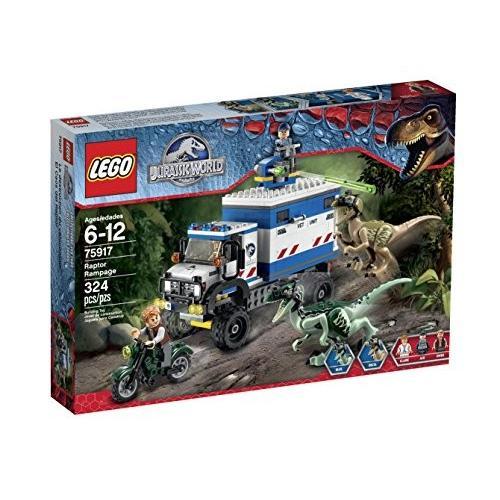 レゴ Jurassic World ラプター Rampage 75917 Building キット海外取寄せ品