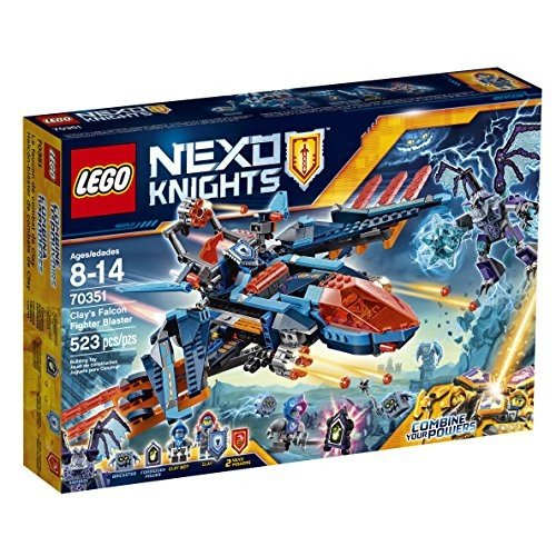 レゴ NEXO KNIGHTS Clay's Falcon Fighter ブラスター 70351 Childrens Toy海外取寄せ品
