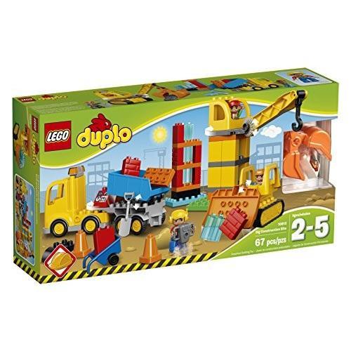 レゴ DUPLO Town ビッグ Construction Site 10813 Best Toy for Toddlers, ラージ海外取寄せ品