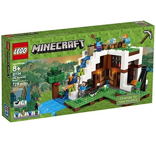 レゴ Minecraft The Waterfall Base 21134海外取寄せ品