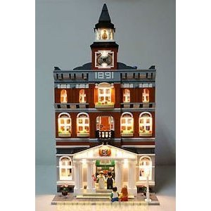 Town Hall ライティング キット for レゴ 10224 セット (LEGO セット Not Included) by Bri海外取寄せ品