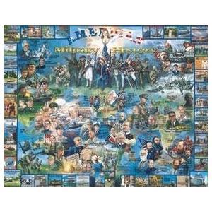 アメリカン ミリタリー ヒストリー ジグソーパズル パズル 1000pc by ホワイト Mountain パズル海外取寄せ品