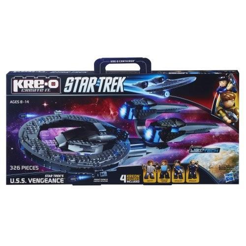 KRE-O スタートレック Star Trek U.S.S. Vengeance Construction セット (A4364)海外取寄せ品