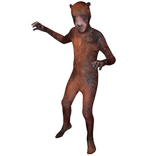 Morphsuits キッズ アニマル プラネット Grizzly コスチューム - サイズ Medium 3'6-3'11 (105c海外取寄せ品