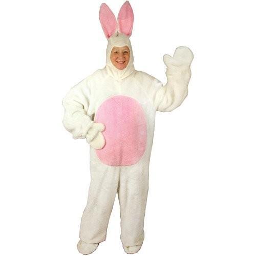 イースター バニー スーツ ホワイト ラージ アニマル コスチューム Rabbit海外取寄せ品