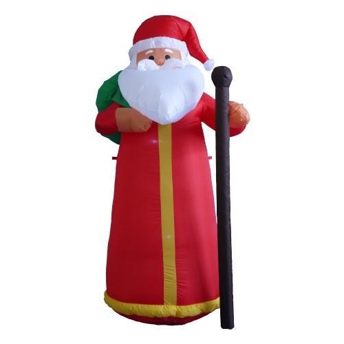 【日本限定モデル】 BZB グッド クリスマス 6 Foot トール トール Lighted クリスマス Claus インフレータブル サンタ Claus デコレーション海外取寄せ品, インターランド:4db72843 --- grafis.com.tr