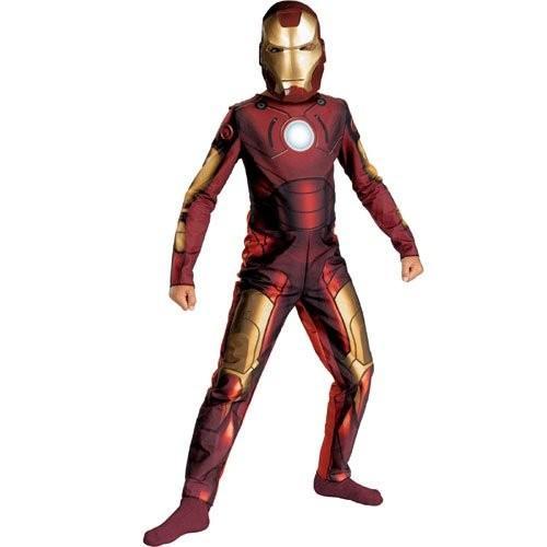 アイアンマン Iron Man コスチューム - ラージ海外取寄せ品