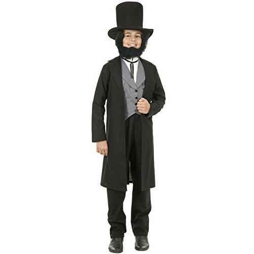 Abe Lincoln コスチューム - スモール海外取寄せ品