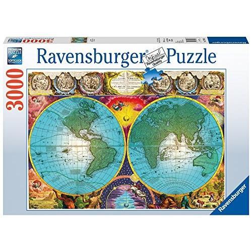Ravensburger -アンティーク マップ パズル (3000 PC)海外取寄せ品