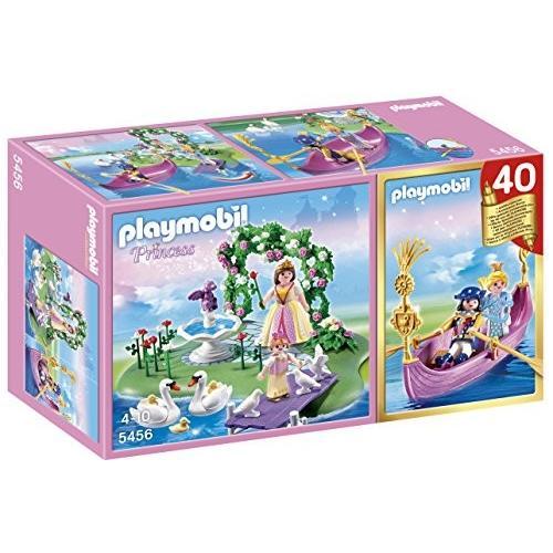 PLAYMOBIL 40th アニバーサリー プリンセス アイランド Compact セット and Romantic Gondola海外取寄せ品