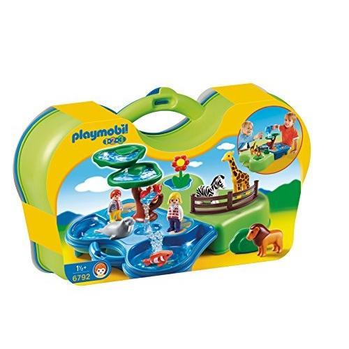 PLAYMOBIL Take Along Zoo & Aquarium Building キット海外取寄せ品