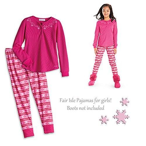 アメリカンガール American Girl CL MY AG FAIR ISLE パジャマ サイズ XS (6) for Girl ピ海外取寄せ品