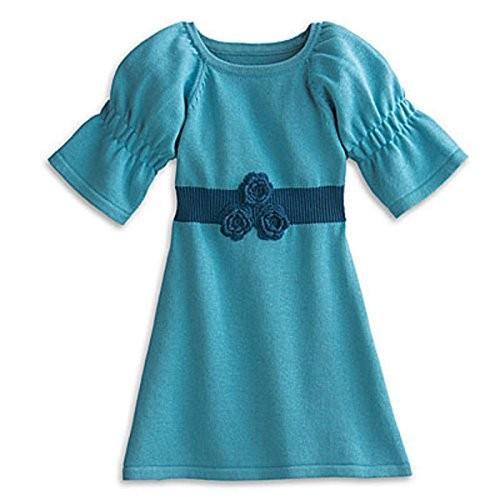 アメリカンガール American Girl Bitty ベビー コージー プレイ ドレス for リトル Girl サイズ 4-5 M海外取寄せ品