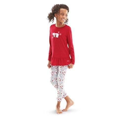 アメリカンガール American Girl Truly Me Playful Polar クマ パジャマ for Girl ラージ 1海外取寄せ品