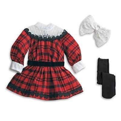 アメリカンガール American Girl Samantha's ホリデー Outfit & ティー Accessories セット 海外取寄せ品