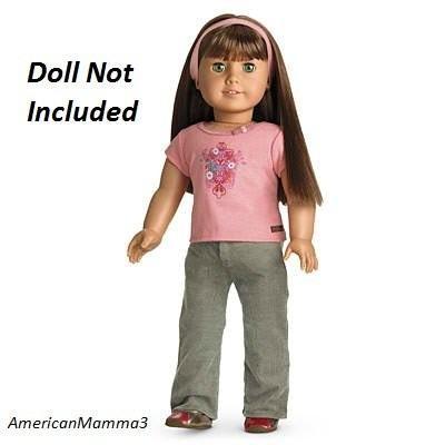 アメリカンガール American Girl True スタイル Outfit for 18 インチ ドール ~DOLL IS NOT 海外取寄せ品