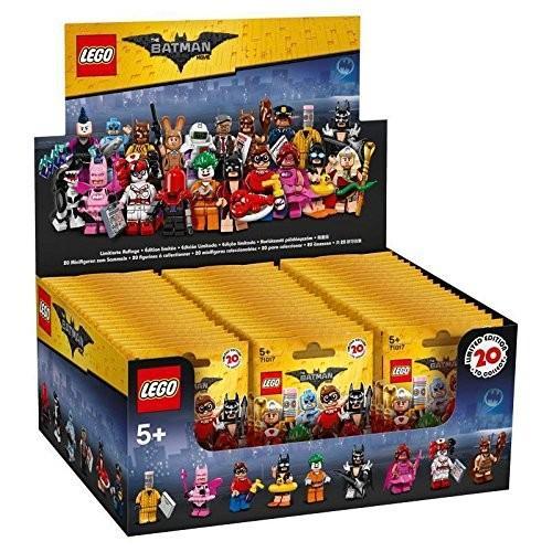 レゴ バットマン Batman ムービー Series シール ボックス ケース of 60 Blind Bags Minifigure海外取寄せ品