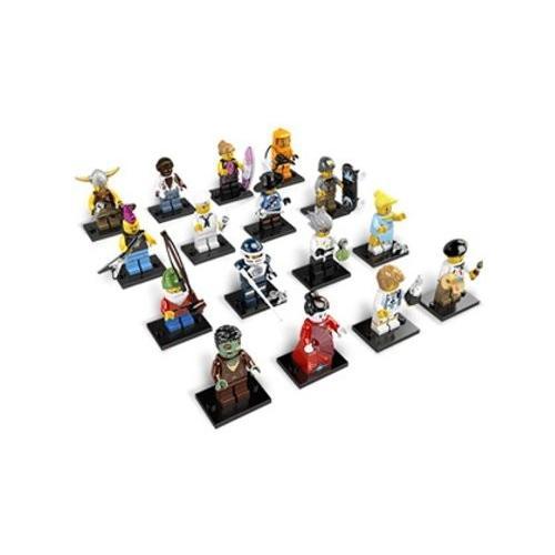 レゴ Collectible Minifigures Series 4 (8804) オレンジ ボックス ケース of 60海外取寄せ品