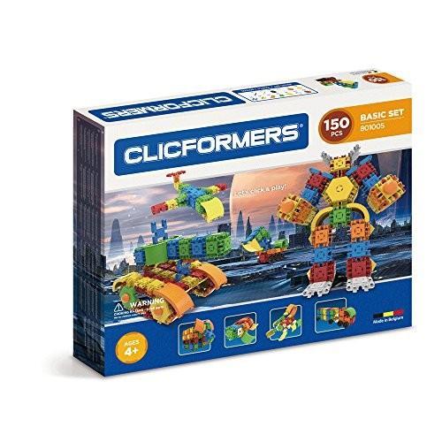 Clicformers ベーシック セット (150 Piece), マルチカラー海外取寄せ品