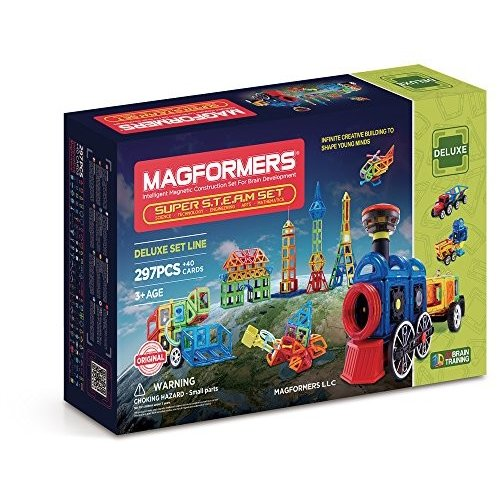 MAGFORMERS Super Steam セット (297 Piece)海外取寄せ品