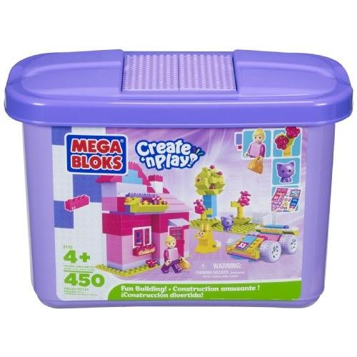 Building ブロック パープル Tub (450-Piece) (Micro サイズ ブロック 4+)海外取寄せ品