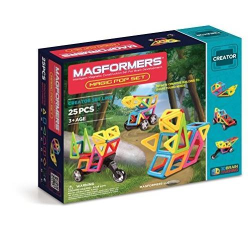 Magformers Creator マジック ポップ セット (25-pieces)海外取寄せ品