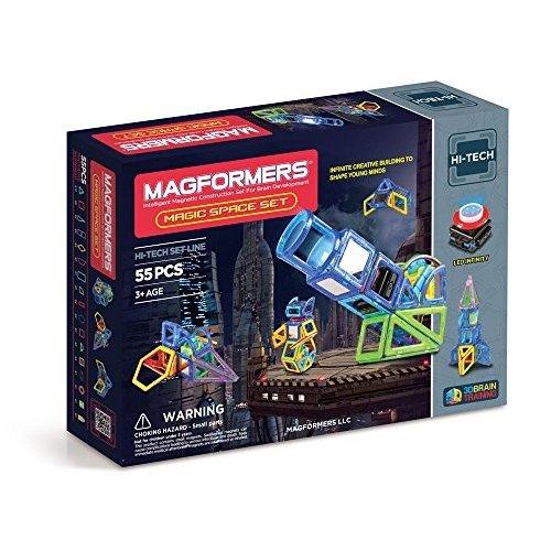 Magformers Hi-テク マジック Space セット (55-pieces)海外取寄せ品