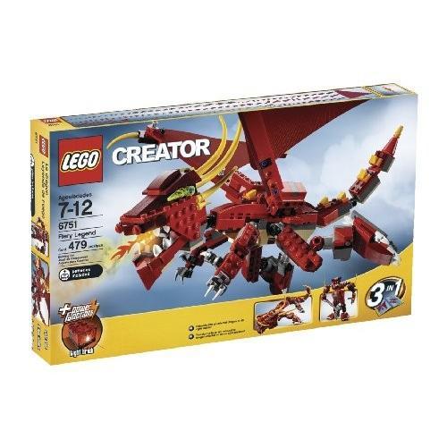 レゴ クリエイター Lego Creator Fiery Legend (6751)海外取寄せ品