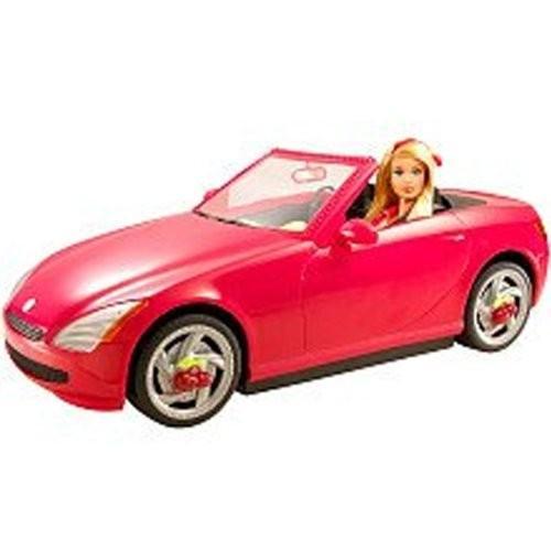 バービー Barbie Candy Glam スウィート Ride Vehicle ギフトセット ドール with a レッド Car海外取寄せ品