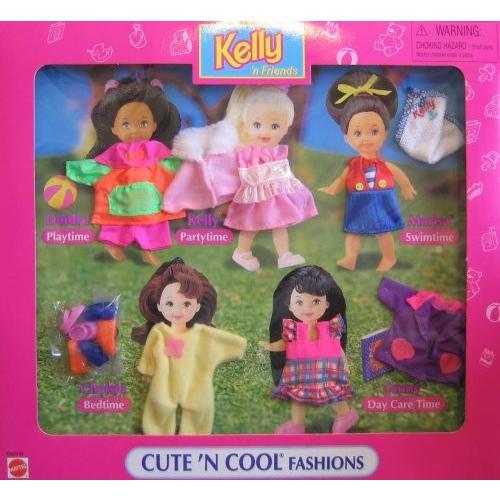 バービー Barbie Kelly 'N フレンド キュート 'N クール ファッション - イージー To ドレス ファッション Cl海外取寄せ品