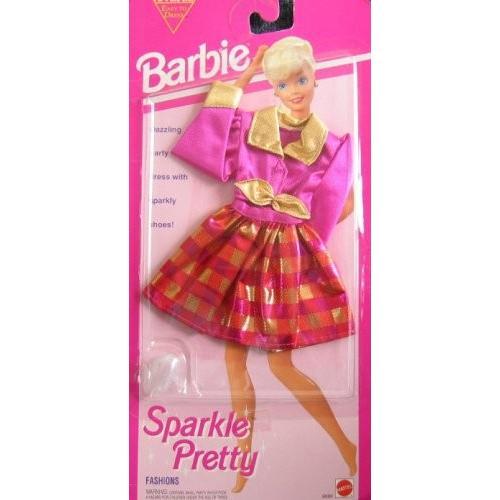 バービー Barbie スパーク プリティ ファッション - イージー To ドレス Dazzling 2 Pce パーティー ドレス 海外取寄せ品