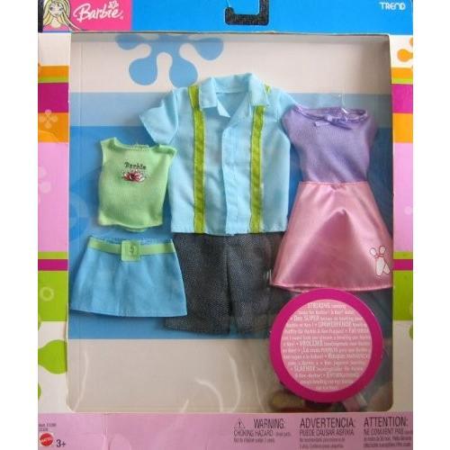 バービー Barbie トレンド ファッション - Striking Bowling ルック for バービー Barbie & Ken海外取寄せ品
