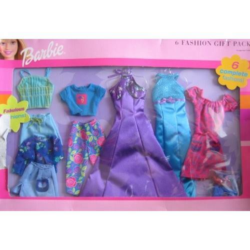 バービー Barbie 6 ファッション ギフト パック - Fabulous ファッション Clothes (2000)海外取寄せ品