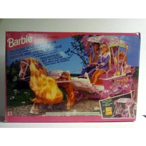 ベリー Rare バービー Barbie Prancing ホース and Carraige- 1994海外取寄せ品