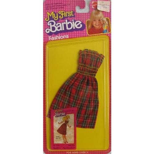 My ファースト バービー Barbie ファッション w 'EASY スリップ ON!' ドレス (1980 Mattel Hawth海外取寄せ品