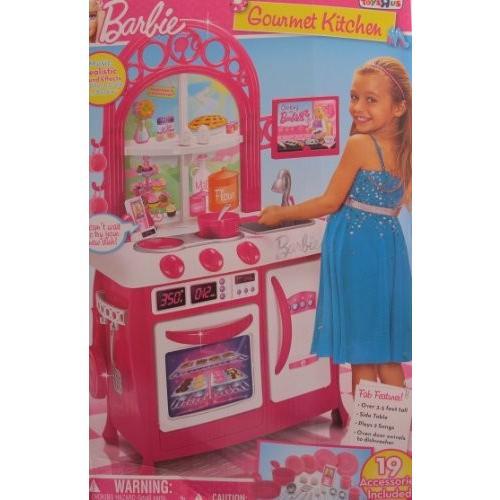 バービー Barbie チャイルド サイズ GOURMET KITCHEN プレイセット w SOUNDS & 19 Accessori海外取寄せ品
