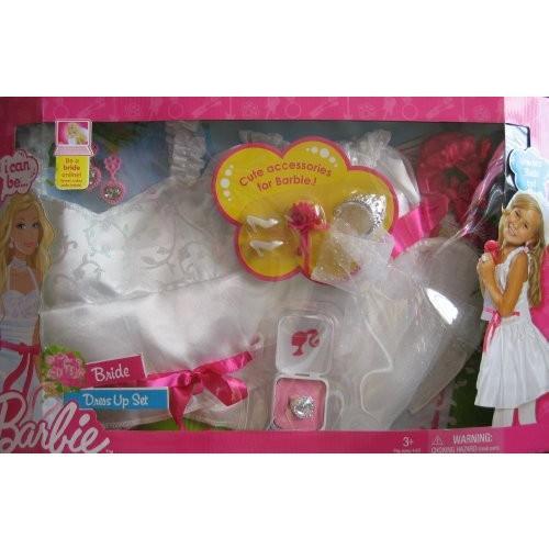 バービー Barbie I Can Be... BRIDE コスチューム ドレス Up セット チャイルド サイズ 4-6X w On-海外取寄せ品