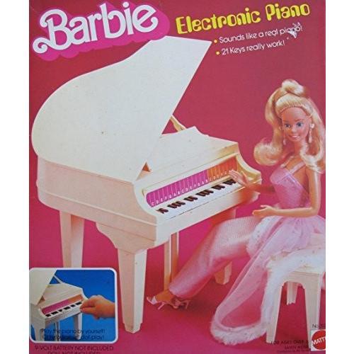 バービー Barbie エレクトロニック PIANO - ベビー グランド Piano w BENCH & More! (1981 Ma海外取寄せ品