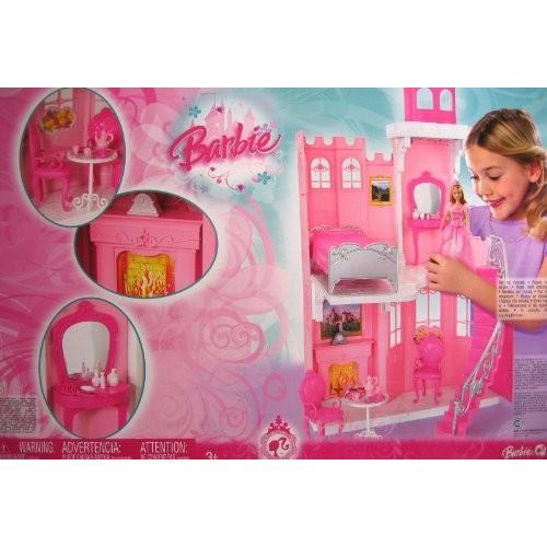 バービー Barbie プリンセス キャッスル プレイセット (2008 Mattel Canada)海外取寄せ品