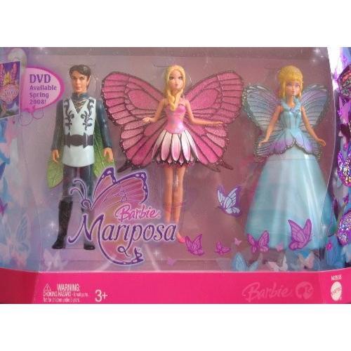 バービー Barbie MARIPOSA FLUTTERFIELD FAIRIES ドール ギフト パック w 4