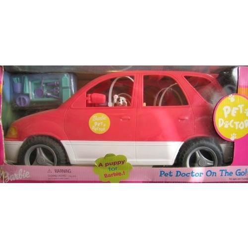 バービー Barbie PET ドクター SUV VAN On The Go! Vehicle w ポップ アウト Care Stati海外取寄せ品