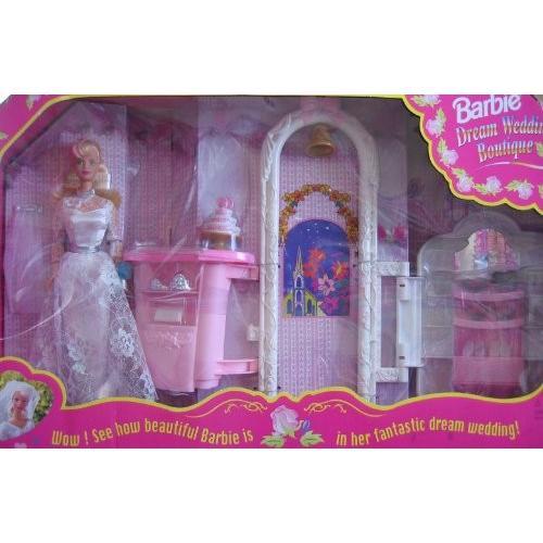 バービー Barbie ドリーム ウエディング BOUTIQUE プレイセット w バービー Barbie BRIDE ドール & Mo海外取寄せ品